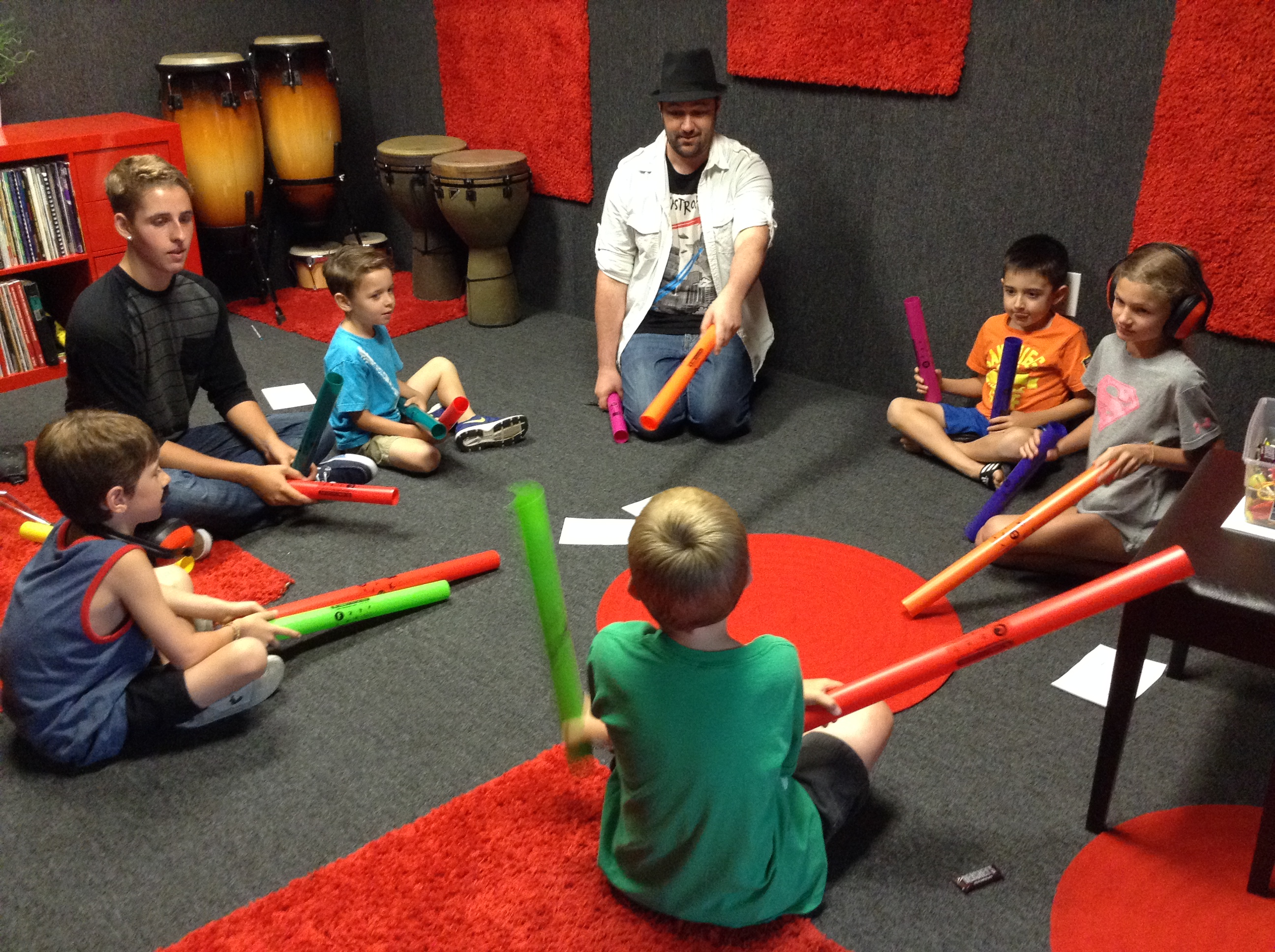 Group music classes for kids in Temecula, CA